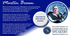 Inspirational Speaker Martin Brown