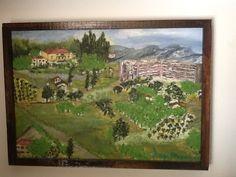 Πίνακας ζωγραφικής στη Σιένα Δήμητρα Μπούκλα