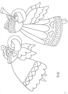 1 million+ Stunning Free Images to Use Anywhere Christmas Drawing, Felt Christmas, Christmas Colors, Christmas Angels, Christmas Crafts, Christmas Ornaments, Angel Crafts, Theme Noel, Christmas Coloring Pages