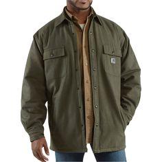 Carhartt Chore Flannel Shirt Jacket