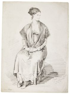 pinelli a seated woman ||| portrait - female ||| sotheby's l17040lot9fqbcen