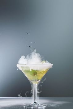 Smoking martini cocktail by Lars Zahner on 500px