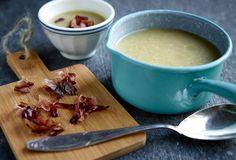 Pastinaak-venkelsoep met streaky bacon