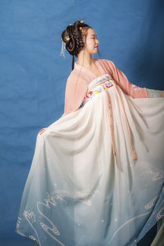 traditional chinese hanfu——tang dynasty ruqun by 沉香画舫