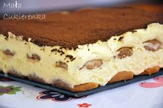Tiramisu Dessert, Polish Recipes, Polish Food, Italian Recipes, Nom Nom, Sweets, Cookies, Baking, Cake