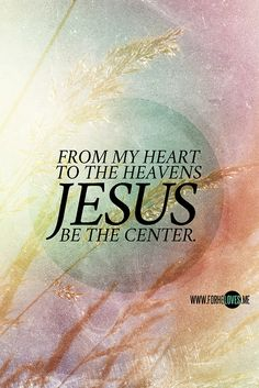 Nothing else matters, nothing in this world will do Jesus You're the center, and everything revolves around You Jesus You