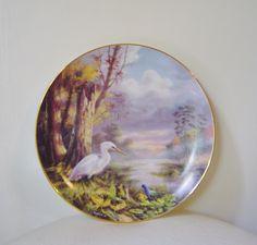 Tranquil Beauty Rudi Reichardt Plate Danbury Mint
