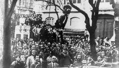 Revolução dos Cravos - Lisboa 25 de abril de 1974