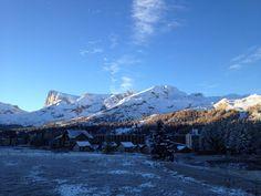 Premières #neiges sur la #montagne de Bure. #MyHautesAlpes