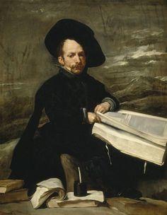 """""""El bufón don Diego de Acedo, el Primo"""", Velázquez (ca.1644)"""