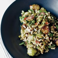 Spicy Brussels Sprouts with Mint   Food & Wine