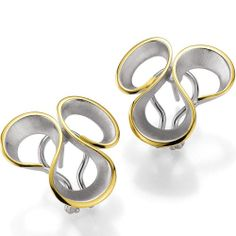 Great contemporary Breuning earrings now available at Keswick Jewelers in Arlington Heights, IL, www.keswickjewelers.com