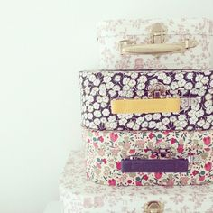 Liberty suitcases