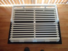pvc pipe raised dog bed  perfect for those costco beds & senior companions