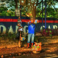 Indonesia - Java - Street scenes.Yogyakarta