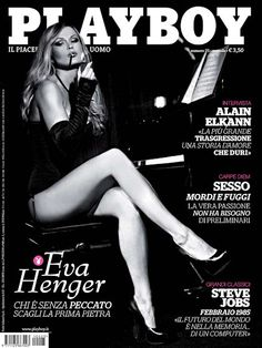 Playboy Italy May 2011  with Eva Henger on the cover of the magazine
