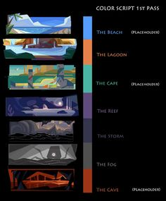 Color studies for an indie game that never happened. – Art Drawing Tips Digital Painting Tutorials, Art Tutorials, Drawing Tutorials, Drawing Tips, Art Sketches, Art Drawings, Drawing Faces, Disney Drawings, Pencil Drawings
