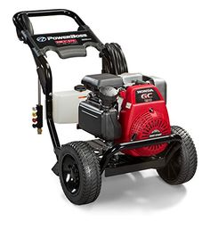 Pressure Washers - PowerBoss 20649 Gas Powered Pressure Washer 3100 PSI 27 GPM Honda GC190 Engine with Easy Start Technology ** Be sure to check out this awesome product. (This is an Amazon affiliate link)