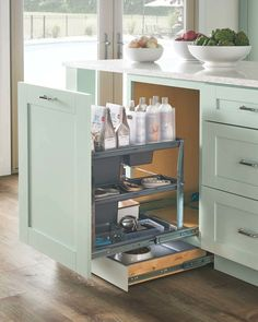 Need kitchen remodeling ideas or want to upgrade your existing kitchen? Check out this post for 12 kitchen upgrades you just can't live without. Get Pictures & Inspiration to make your dream kitchen become reality. Kitchen Cabinet Remodel, Kitchen Cabinet Design, Kitchen Cabinets, Corner Cabinets, Pantry Design, Kitchen Countertops, Cheap Kitchen Makeover, Diy Kitchen Storage, Kitchen Organization