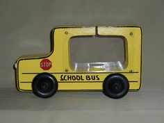 fun piggy bank, kids love the school bus. It holds alot of coins and you can watch it fill up. Great gift idea for your favorite teacher or bus driver.