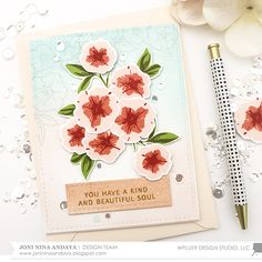 Hi Everyone Joni here, sharing this gorgeous Petunia Builder  stamp set and Petunia Builder Die  . For this project I also used the Modern P...