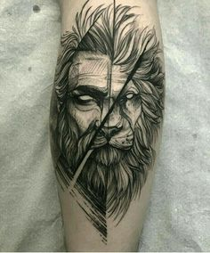 252a1be7d6bc9 Badass Tattoos, Dope Tattoos, Unique Tattoos, New Tattoos, Tattoos For Guys,