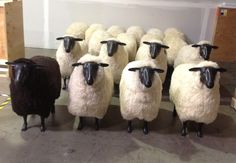 Sheep Bar Stools