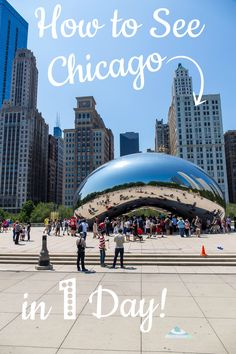 Big Cities can be very daunting, especially if you've never been there before. Especially, if you only have ONE day to see it! With this guide you can be time-efficient and discover all the best things to do in Chicago in one day! via @UnevenSidewalks