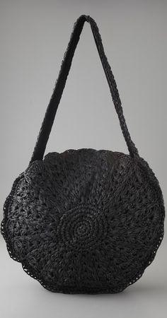Circular Raffia Bag by ZIMMERMANN, £77