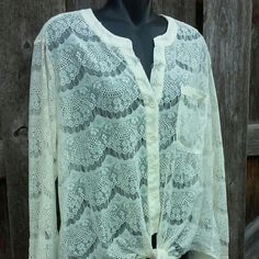 Lace Blouse Great condition. 11-21-15 ... Tops Blouses