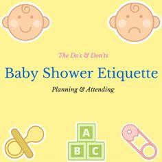Party ideas on pinterest baby shower etiquette party for Baby shower etiquette for mom to be