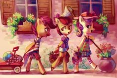 over a cup of coffee by Holivi on DeviantArt My Little Pony Games, My Little Pony Drawing, Mlp My Little Pony, My Little Pony Friendship, Equestria Girls, Raimbow Dash, My Little Pony Wallpaper, Sweetie Belle, Dark Disney