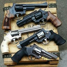 Smith & Wesson beauties