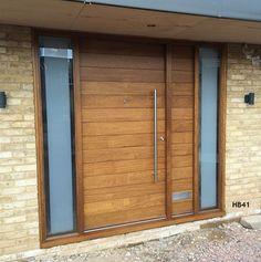 iroko contemporary door set
