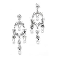 1000 Ideas About Bridal Chandelier Earrings On Pinterest