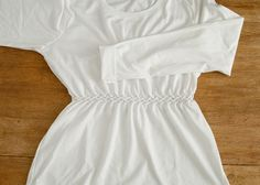 DIY: How To Diamond Smock Your T-Shirt - this is the 3rd name I've come across for this style (not counting the Canadian/North American/lattice smocking part)