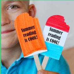 popsicle bookmarks