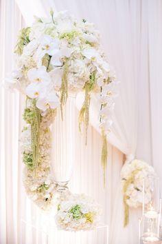 photo: Blush Photography; Classy wedding ceremony idea