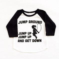 Jump Around 90's Hip Hop Kids Tee | Jane