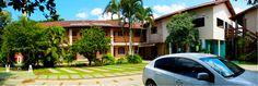 Fotografias de Ambientes - Panorâmica Estacionamento / Pousada Portal da Palmeira