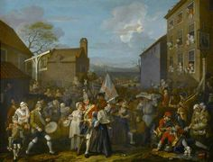 The March of the Guards to Finchley (painted 1749-1750) William Hogarth