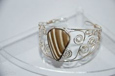 striped flint ring