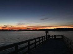 Before sunrise down on the dock #mainemorningrun #islandlife #maine #run #winter #january