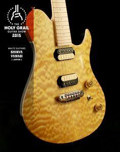 Exhibitor at the Holy Grail Guitar Show 2015: Shinya Yanagi, Waltz Guitars, Japan. http://www.waltzguitars.com/, https://www.facebook.com/waltzguitars http://holygrailguitarshow.com/exhibitors/waltz-guitars/