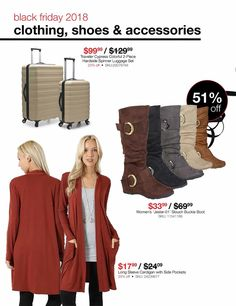 Overstock Black Friday 2018 Ads and Deals Browse the Overstock Black Friday 2018 ad scan and the complete product by product sales listing. Black Friday News, Buckle Boots, Coupons, Ads, Long Sleeve, Clothes, Color, Women, Fashion