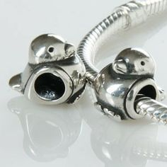 AUTHENTIC STERLING SILVER ZABLE SNOWMAN BEAD
