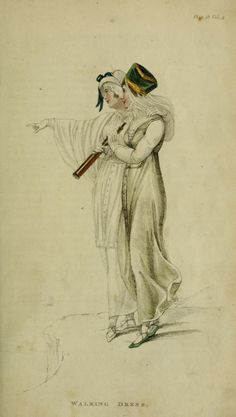 Walking Dress Plate 18 Series 1 Vol 4 September 1810