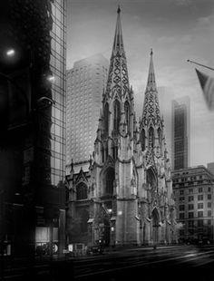 vmburkhardt:  (via SAINT PATRICK)  St. Patrick's Cathedral, New York...