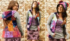 wild things hooded patch vest: Soul-Flower Online Store