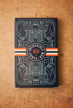 Tomski&Polanski created a limited edition set of illustrated playing cards that tell the stories of incredible men.